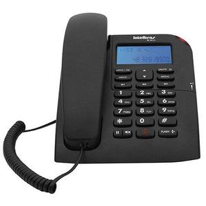 Telefone Com Fio Intelbras Tc60 Id Com Id Preto