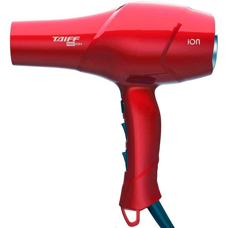 Secador de Cabelo Taiff Red Íon Vermelho 220v