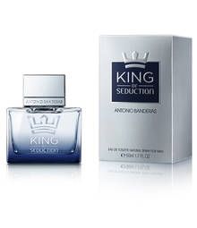 Perfume King Of Seduction Antonio Banderas Eau de Toilette Masculino 30 Ml