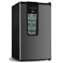 Geladeira/refrigerador 82 Litros 1 Portas Titanium - Consul - 110v - Czd12atana
