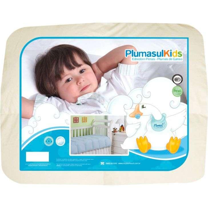 Edredom Infantil 50% Pluma e 50% Fibra Siliconizada Plumasul