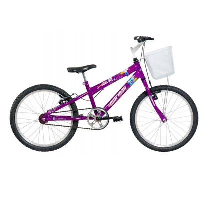 Bicicleta Mormaii Sweet Girl Aro 20 Rígida 1 Marcha - Violeta