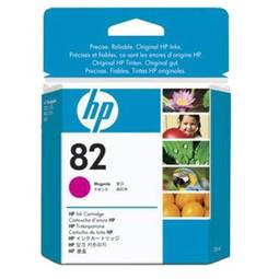 Cartucho Hp Hp 82 28ml Magenta Ch567a