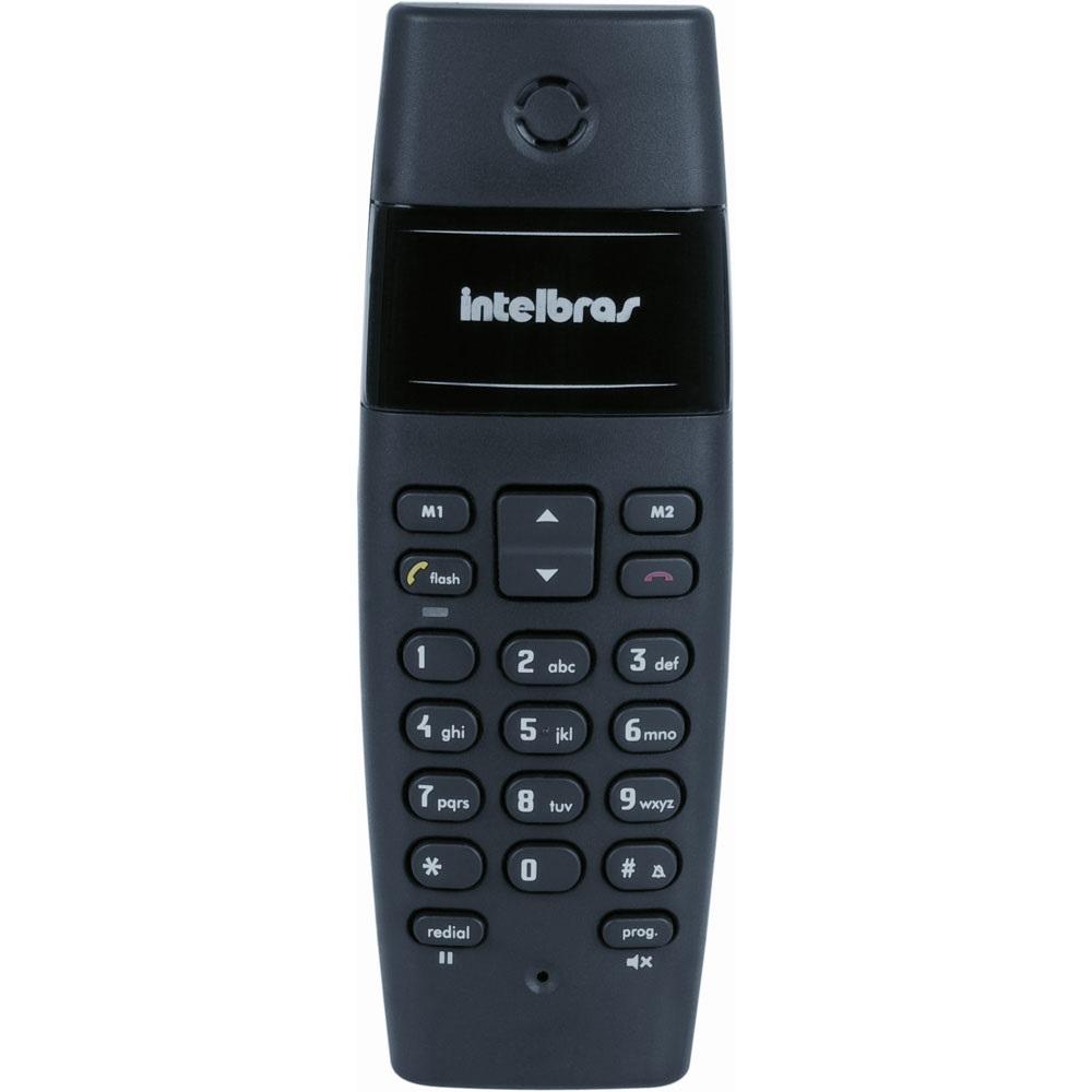 Telefone Sem Fio Intelbras Ts40 Sem Id Preto