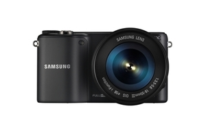Câmera Digital Samsung Smart Preto 20.3mp - Nx2000