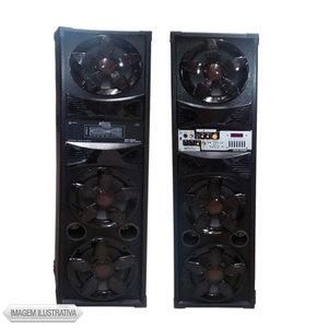 Caixa Acústica Mystic Amplificada 100 W Rms Myps400r