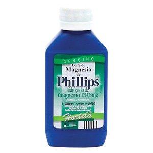 Leite Magnesia Phillips Liq Fr 350ml Sb Hortela - Hidroxido de Magnesio - Glaxosmithkline - Di