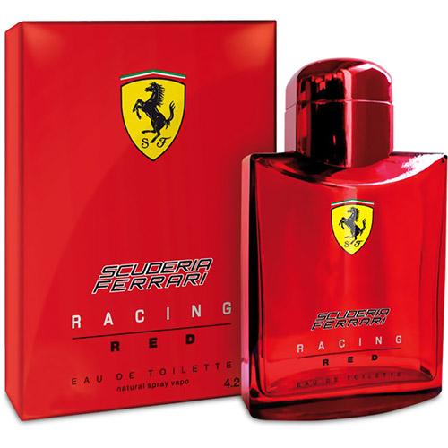 Perfume Scuderia Racing Red Ferrari Perfumes Eau de Toilette Masculino 40 Ml