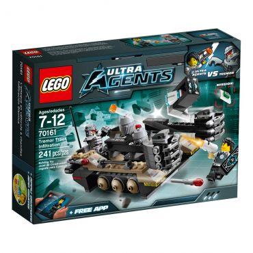 Lego Ultra Agents Infiltração Trepidante da Pista