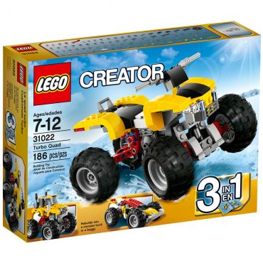 Lego Creator Quadriciclo Turbo 31022
