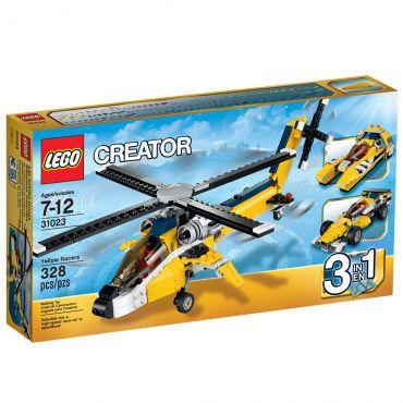 Lego Creator Veículos Amarelos de Competição 31023