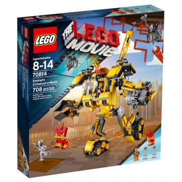 Lego Movie o Robô de Construção de Emmet 70814