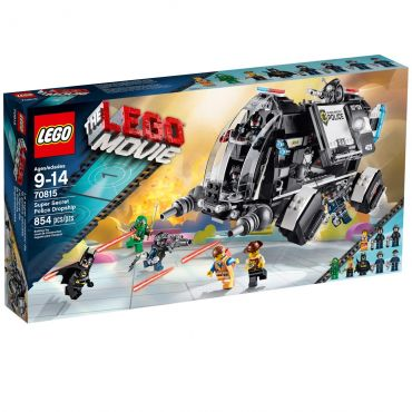 Lego Movie Dropship da Polícia Super Secreta 70815