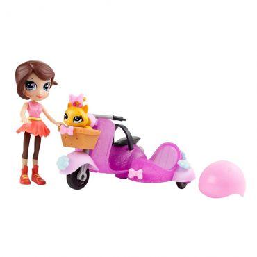 Littlest Pet Shop Conjunto Scooter da Blythe - Hasbro