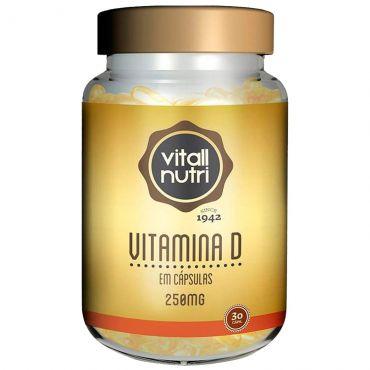Vitall Nutri Vitamina D 30 Cápsulas