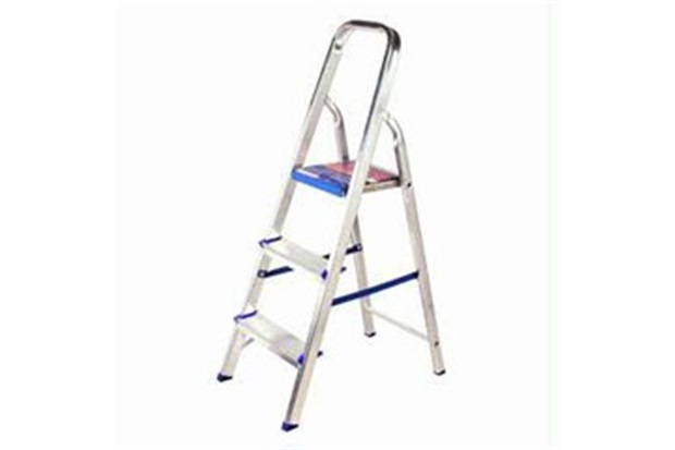 Escada de Alumínio Doméstica 3 Degraus 1003 Alustep