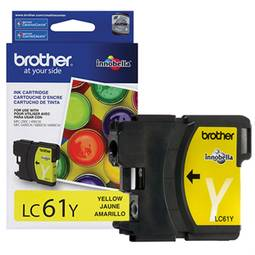 Cartucho Brother 5ml Amarelo Lc61y