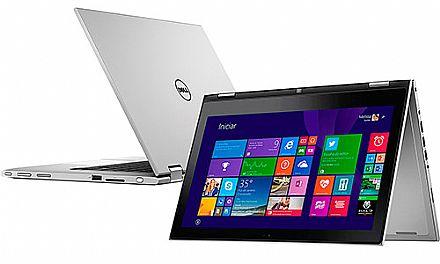 Notebook - Dell I13-7348-b20 I5-5200u 2.20ghz 4gb 500gb Padrão Intel Hd Graphics 5500 Windows 8 Inspiron 13,3