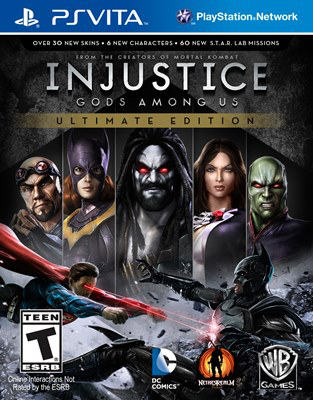 Jogo Injustice: Ultimate - Ps Vita - Warner Bros Interactive Entertainment
