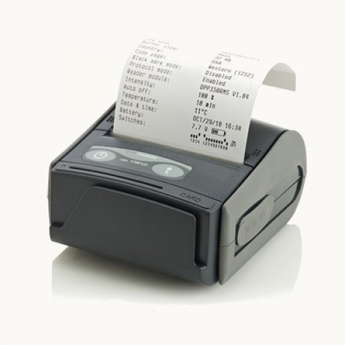 Impressora Térmica Etiqueta Datecs Dpp 350bt Dpp350bt Transferência Térmica Monocromática Usb, Serial e Bluetooth Bivolt