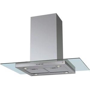 Coifa de Ilha Arix 80 Cm Brisa Inox - 110v - Com Vidro - Arx02i080i