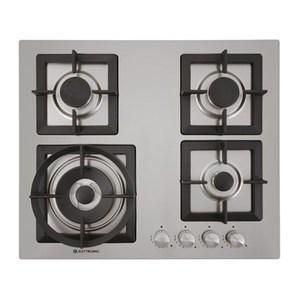 Cooktop 4 Bocas Elettromec Inox - Quadratto - Gás - C601-z4xq