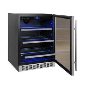 Geladeira/refrigerador 95 Litros 1 Portas Inox - Elettromec - 110v - Fb95