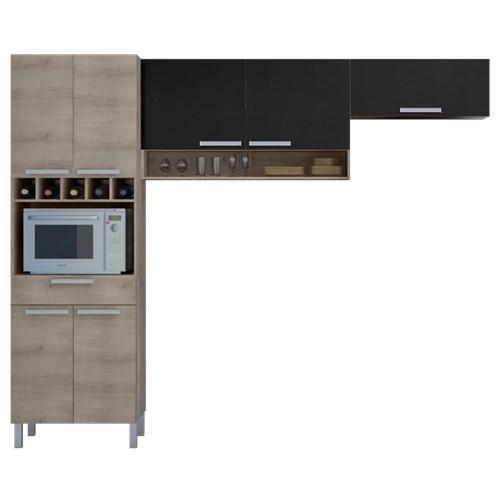 Cozinha Completa Nesher Monalisa 7 Portas 1 Gaveta