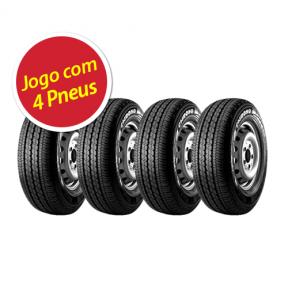 Pneu Pirelli Chrono 195/75 R14 106r - 4 Unidades