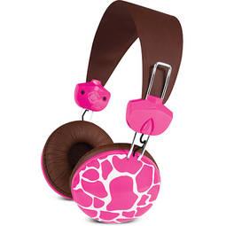Fone de Ouvido Headphone Pink Giraffe Macbeth Mb-hl2kg