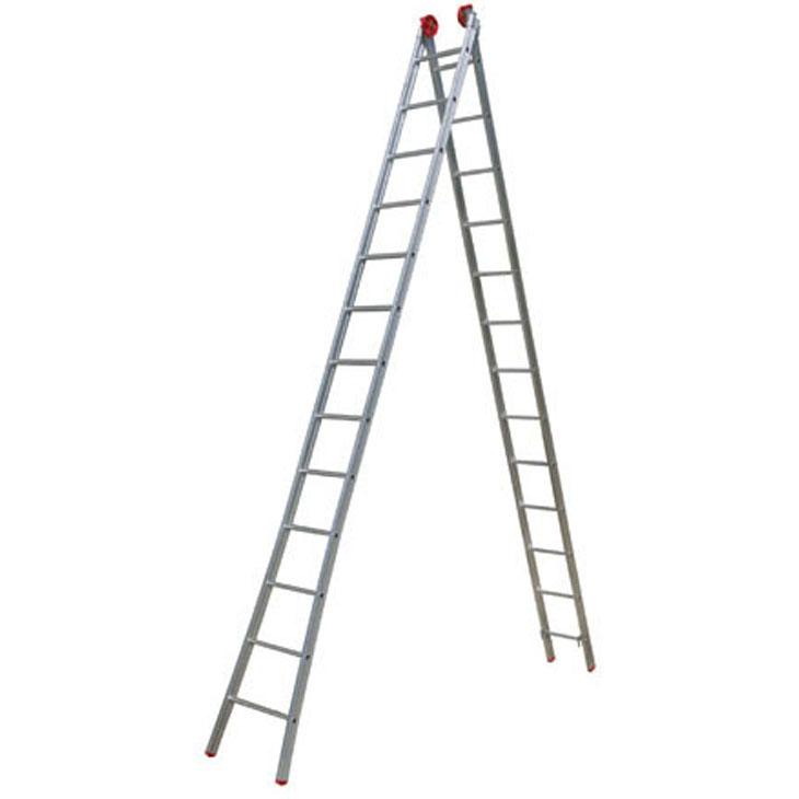 Escada de Alumínio Extensiva 2x13 26 Degraus Esc0196 Botafogo