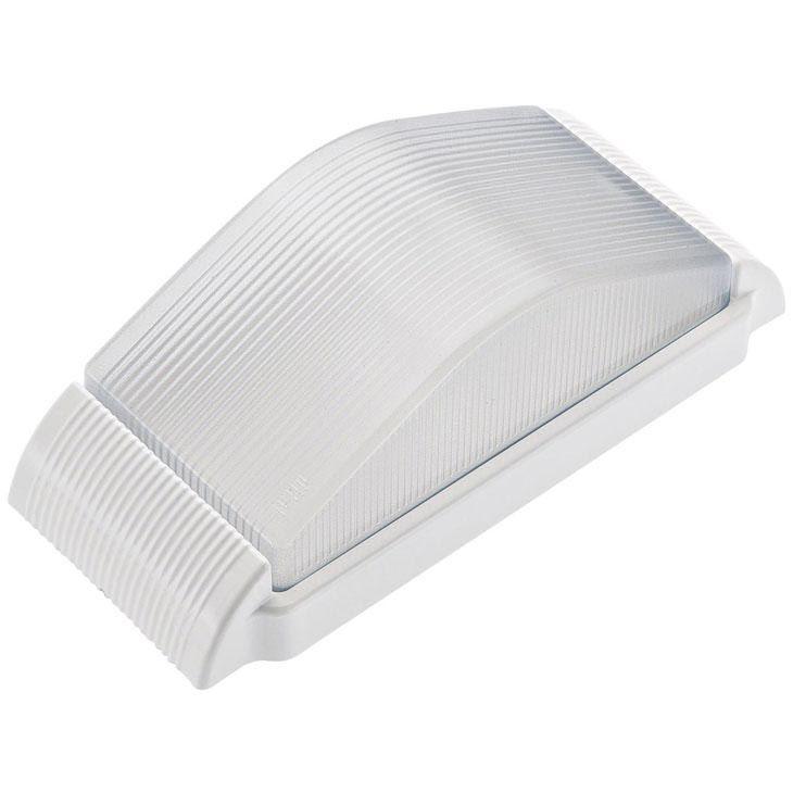 Arandela Dital Iluminação Face Termoplástico Branco - 295br