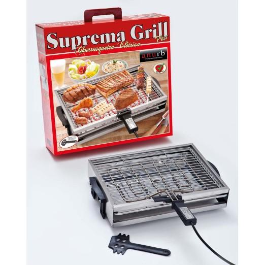 Churrasqueira Anurb Elétrica Suprema Grill Plus Preto 110v