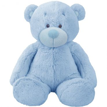 Pelucia Bonnie Bear 40cm Azul Br167 Multikids