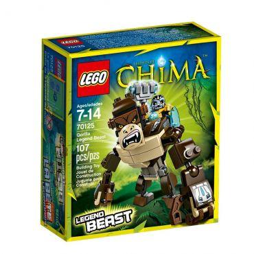 Lego Chima Criatura Lendária de Gorila 70125