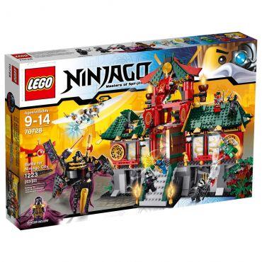 Lego Ninjago Combate por Ninjago City 1223 Peças 70728