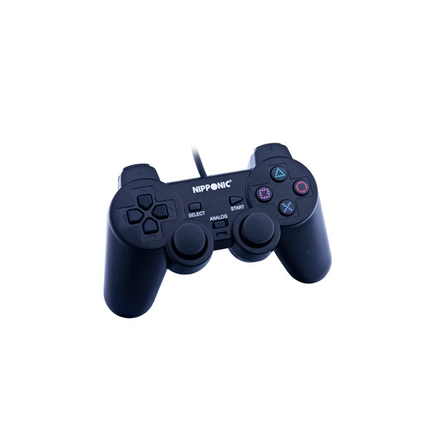 Controle Joystick Dual Shock Ps2 Nipponic Ps2001t