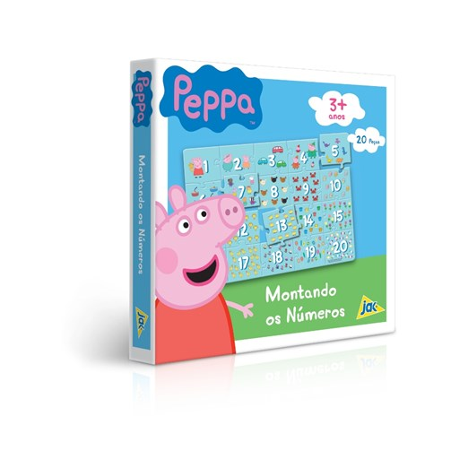 Jogo Educativo Montando os Números Peppa Pig Toyster