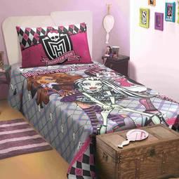 Edredom Solteiro Monster High Lepper Home