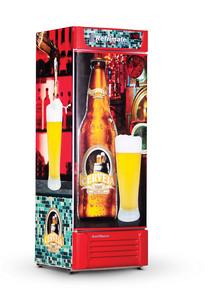 Geladeira/refrigerador 600 Litros 1 Portas Adesivado - Refrimate - 220v - Vcc600s
