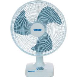 Ventilador de Mesa 3 Pás Ventar Azul/branco 40cm - 110v - V43