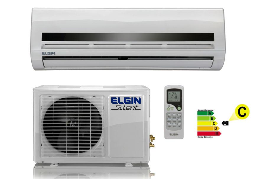 Ar Condicionado Split 30000 Btu Quente/frio Silent - Elgin - 220v - Srq 30000