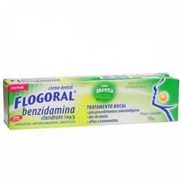 Flogoral Creme Dental Bg 70g - Cloridrato de Benzidamina - Ache