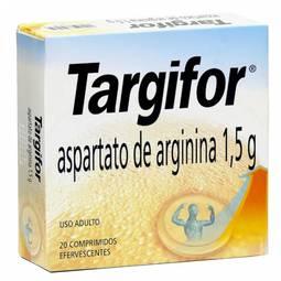 Targifor 1500mg Cx 20 Comp Efv - Aspartato de Arginina - Sanofi-aventis