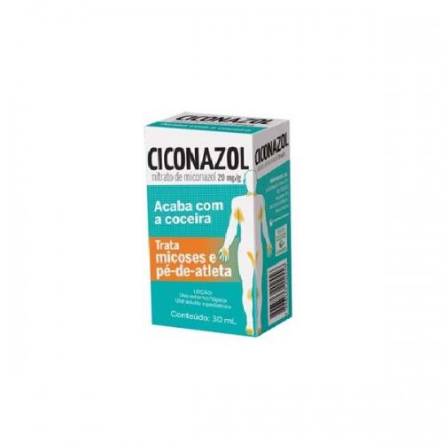 Ciconazol 20mg Locao Fr 30ml - Nitrato de Miconazol - Cimed