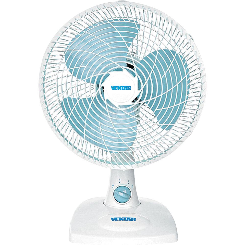 Ventilador de Mesa 3 Pás Ventar Azul/branco 30cm - 110v - V26