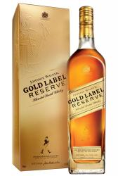 Whisky Johnnie Walker Gold Label Reserve 0,750l - 18 Anos