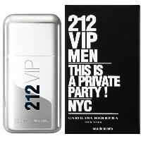 Perfume 212 Vip Men Carolina Herrera Eau de Toilette Masculino 50 Ml