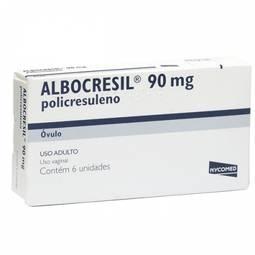 Albocresil Cx 6 Ovl - Policresuleno - Nycomed Pharma