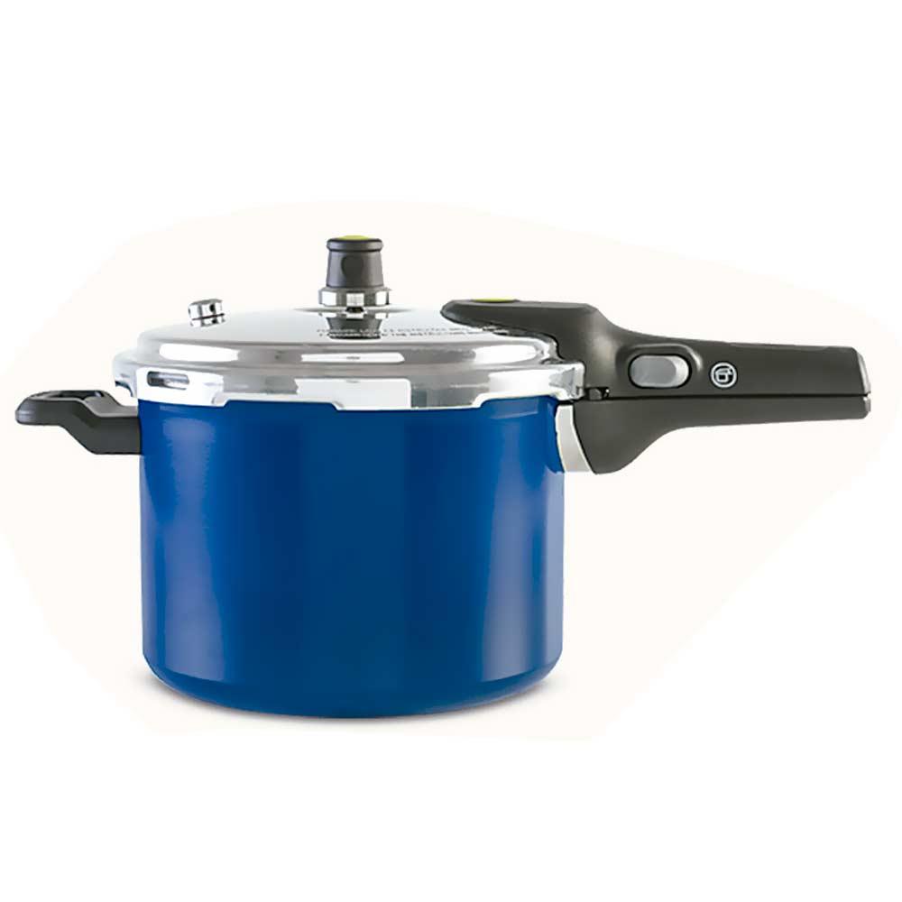 Panela de Pressão Pressure 4,5 Litros 4950/111 Azul Brinox